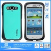 Pink PU Le cell phone case for samsung galaxy s3 mini i8190