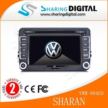 SharingDigital dual core with RDS navigation dvd gps for vw sharan