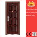 Nice acabamento de porta de aço externa janelainserir sc-s040