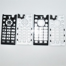 High Quality Eco-friendly Hybrid Silicone& PET Mobile Phone Keypad Sheet