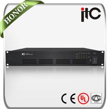 T-4D120C 4 Channel Class d 120w audio power amplifier