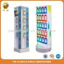 Lockable Acrylic Counter Display Showcase