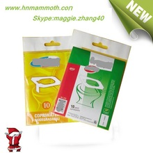 Hot Selling Alibaba China Supplier Toilet Seat Cover Hydrophilic Water Soluble Paper TP-16-U
