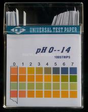 pH test strips: universal paper PH0-14