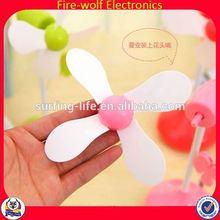 Fashion Able Elegant Advertising supply rechargeable fan advertise rechargeable fan guangzhou rechargeable fan
