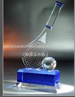 Optic Crystal Trophy Making Supplies at China Factory