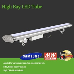 LED High Bay for Lighting solution 100lm/w Frosted cover eyes safty high bay led light