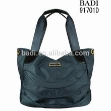 2015 hot selling authentic branded desigual pvc nylon tote bags women fabric handbag