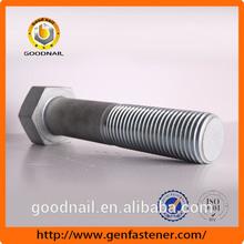 Fastener manufacturer ISO 9001 certified DIN931 5.8 Grade Carbon steel expandable bolt