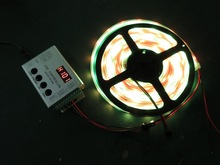 Magic led strip ws2801smd 5050 flexible waterproof rgb led strip 12V addressable