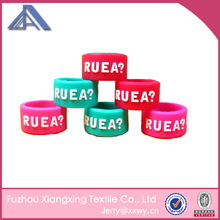 custom silicone ring for promotional gifts
