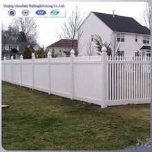 vinyl white plastic fence picket