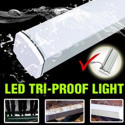 New Design high power smd waterproof IP65 hanging aluminium light frame With Pir Sensor