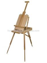 Wooden Sketch Box Tripod Folding Art Artist Painter w/Pallet