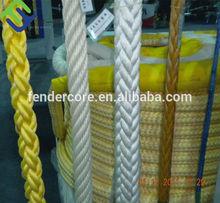 "3/8"" diamond braid poly ship mooring line"