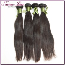 Free Sample Mongolian straight 100% Virgin Raw Unprocessed 100% virgin mongolian hair weft