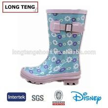 kids rubber rain boots UK fashion footwear
