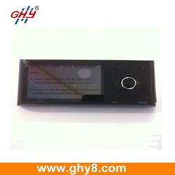 HD 720P Digital Double Tachograph Car Camera Recorder GPS