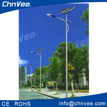 integrated high power led street light outdoor solar lights 12v/24v auto with steel post