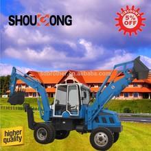 Cina 6 ton terna escavatore idraulico sgb25-10a