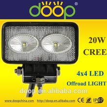 12V 24V 20W Original America LED Work Lamp Headlight For Jeep/ATV/UTV/Snowmobile/Special Vehicle