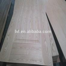 MDF moulded door skin with natural ash faced