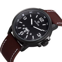 2014 hot selling large case 48mm diameter men's military style quartz watches