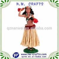 2014 hula girl figurine