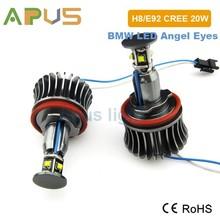 2 years warranty 20W E92 h8 led angel eyes kit
