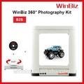Winbiz de tacadiscos de 360 pantalla giratoria eléctrica de alumbrado de estudio equipo de fotografía accesorio