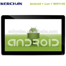 21.5 inch LCD advertising digital signage usb avi player
