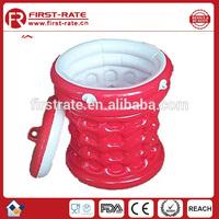 beautiful PVC inflatable ice bucket