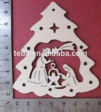 2015Teda Hot Mini Christmas Santa Claus Xmas Tree Ornament Hanging Decoration Party Gift