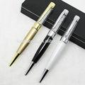 el exclusivo de cristal usb pen delicado y clásico usb personalizada usb flash drive