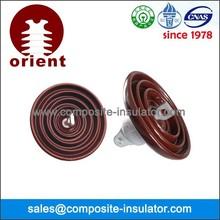 Different types porcelain suspension insulator