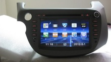 7 Inch Car DVD player with gps Navigation For Honda Jazz Fit (2009-2011) Left Hand Drive
