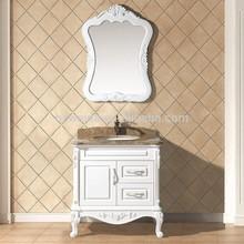 2014 hot selling european style cheap single bathroom vanity