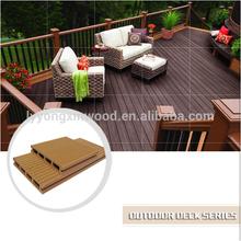 waterproof wood-plastic composite WPC decking profiles