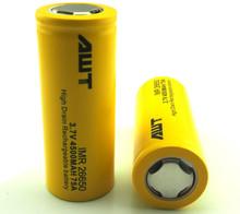 AWT 4500 mah batteria al litio ricaricabile 26.650 18.650 batteria evod twist batteria