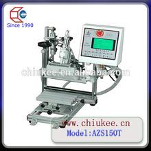 LCD showing auto manual rotary silk screen printing machine