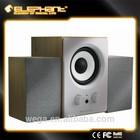 Elephant USB wooden super bass 2.1ch speaker