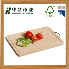 hot sale bamboo wooden cutting board with handle