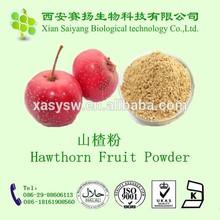 Natural Hawthorn Leaf & Fruit Extract Crataegus pinnatifida Bge. extract10:1 in bulk