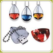 Colorful Pendant Jewelry 1GB/2GB/4GB/8GB USB Flash Drive
