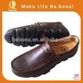 2014 fashion flat genuine handmade men leather dress shoes