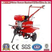 de haute qualité gear drive moteur à essence mini jardin cultivateur à commencer à la main