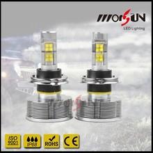 hot sale ! Morsun H1 H3 H4 H7 H8 H9 H10 H11 H13 9005 9006 30w led headlight 2400lm led headlight high power H4 led car headlight
