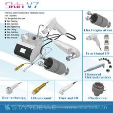 Fast wrinkle reduction PDT RF radio frequency skin tightening machine-Skin V7