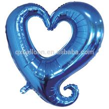 New custom foil hollow heart shape balloon