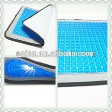 Anti fatigue ventilate gel car leather seat cushion cover sofa